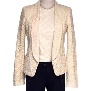 🦃2 FOR 14$ Ann Taylor lace overlay blazer